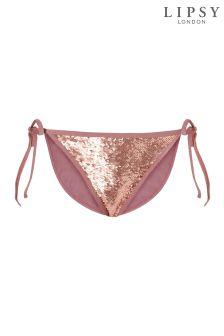 Lipsy Loves Kate Sequin Bikini Bottoms