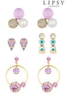 Lipsy Tonal Crystal Earring Set
