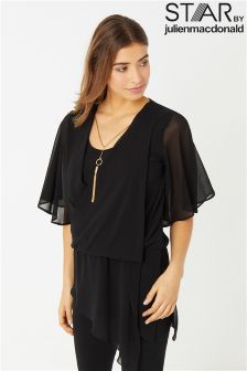 Star By Julien Macdonald Wrap Asymm Necklace Top