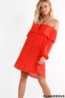 Glamorous Petite Bardot Dress