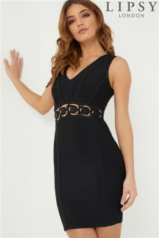 Lipsy Ring Hardware Bandage Dress