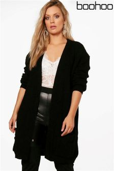 Boohoo Plus Boyfriend Cardigan