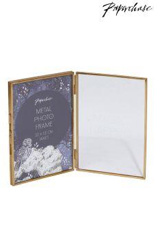 Paperchase Indigo Nights Double Frame 4x8