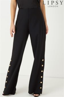 Lipsy Button Detail Trousers