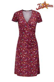 Joe Browns Butterfly Print Wrap Dress