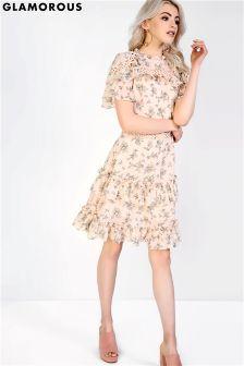 Glamorous Floral Dress