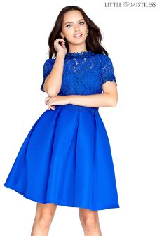 Little Mistress Lace Prom Dress