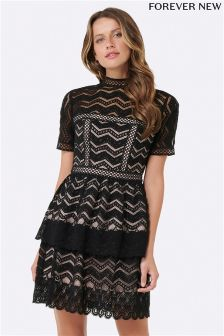 Black lace dress forever 21 uk london