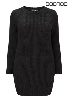 Boohoo Plus Jumper Dress