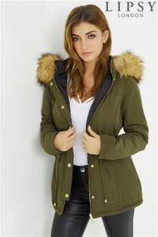 Lipsy Reversible Padded Coat