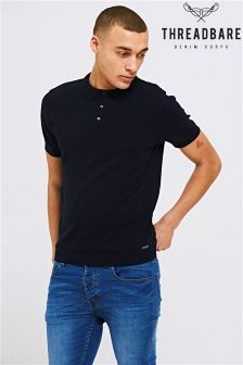 Threadbare Polo Knit T-Shirt