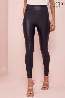 Lipsy Leather Look Leggings