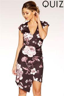 Quiz Asymmetric Bodycon Dress