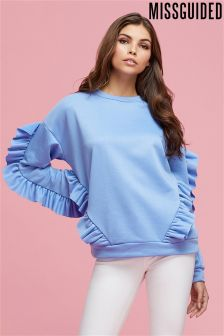 Missguided Frill Sweatshirt