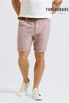 Threadbare Belted Shorts