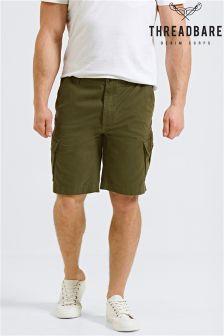 Threadbare Cargo Shorts with Pockets