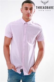 Threadbare Linen Short Sleeve Shirt