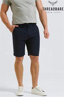 Threadbare Linen Blend Shorts