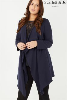 Scarlett & Jo Longline Waterfall Jacket