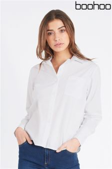 Boohoo Button Through Shirt