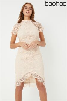 Boohoo Boutique Lace Bodycon Dress