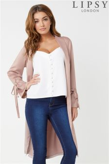 Lipsy Satin Duster Coat
