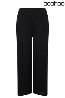 Boohoo Plus Wide Leg Trousers