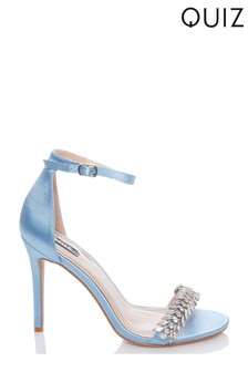 Quiz Jewelled Heeled Sandals