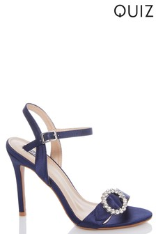Quiz Buckle Heeled Sandals