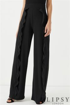 Lipsy Ruffle Front Trousers
