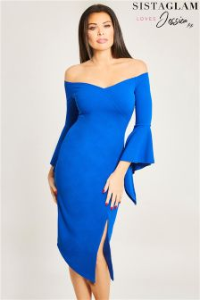 Jessica Wright Bodycon Dress With Split