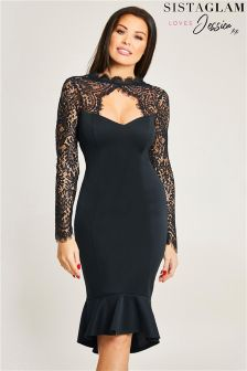 Jessica Wright Key Hole Bodycon Dress