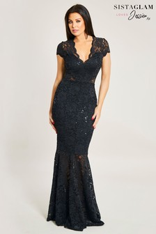 Jessica Wright Sequin Maxi Dress