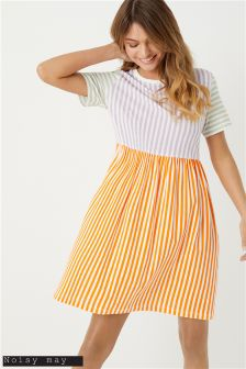 Noisy May Striped Dress