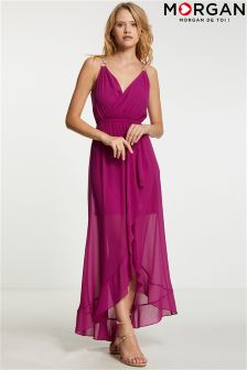 Morgan Wrap Maxi Dress