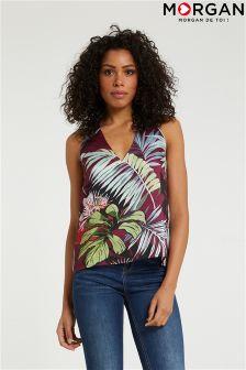 Morgan Floral Printed Sleeveless Top