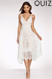 Quiz Crochet Prom Dress
