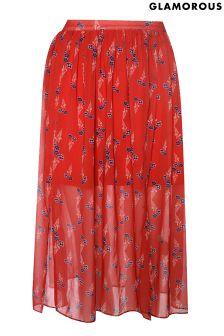 Glamorous Petite High Waisted Skirt