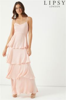 Lipsy Tiered Cami Maxi Dress