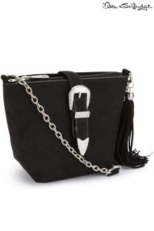 Miss Selfridge Bucket Crossbody Bag
