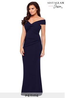 Jessica Wright Petite Marina Bardot Maxi Dress
