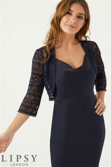 Lipsy All Over Lace Bolero Jacket