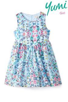 Yumi Girl Kaleidoscopic Butterfly Dress