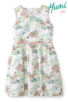 Yumi Girl Poodle Print Dress