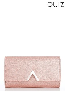 Quiz Glitter Arrow Bag
