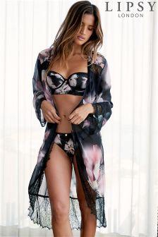 Lipsy Renesme Print Robe