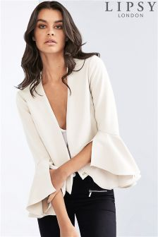 Lipsy Tailored Flare Sleeve Jacket