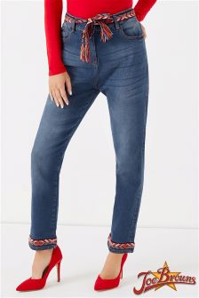 Joe Browns Cropped Fringed Jeans