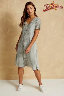 Joe Browns Short Sleeve Embroidered Shift Dress