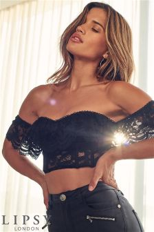 Lipsy Bardot Bodice Top